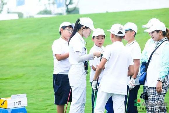 2018年浙江省青少年高尔夫球锦标赛在湖州温泉收杆