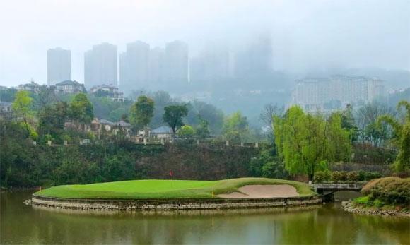 重庆保利高尔夫球会开启冬季开球时间